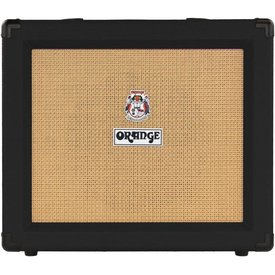 "Orange Orange Crush CRUSH35RT Black 35 Watt, 4 Stage Pre, Reverb & Tuner, Channel Switching, FX loop, Aux in,10"" Spkr"