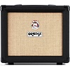 Orange Crush CRUSH20 Black 20 Watt, 4 Stage Preamp, Clean/Dirty Channel Switching, HP Out, Aux in, 8'' Spkr