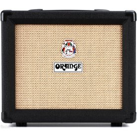 Orange Orange Crush CRUSH20 Blk 20 W, 4 Stage Preamp, Clean/Dirty Ch Switching, HP Out, Aux in, 8'' Spkr