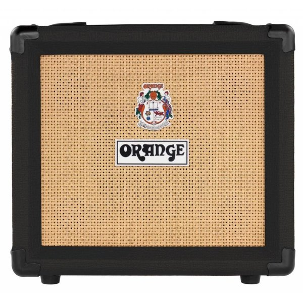 "Orange Orange CRUSH12 Black 12 Watt 3 Stage Preamp EQ OD Cab-Sim VOTW 6"" Speaker"