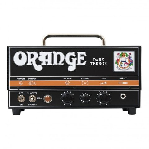 Orange DA15H Dark Terror 15/7 Watt Class A high gain preamp tube effects loop