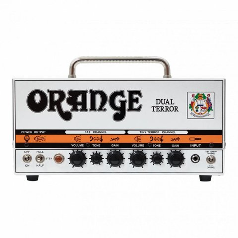 Orange DT30H Dual Terror - 30/15/7 Watt Class A 2-channel Head 3 gain stages