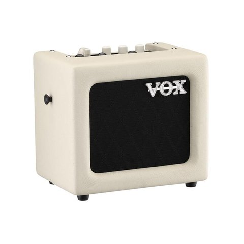 "Vox MINI3G2IV 3W 1 x 5"" Modeling Guitar Combo Amplifier, Ivory"