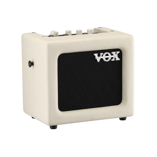 """Vox Vox MINI3G2IV 3W 1 x 5"""" Modeling Guitar Combo Amplifier, Ivory"""