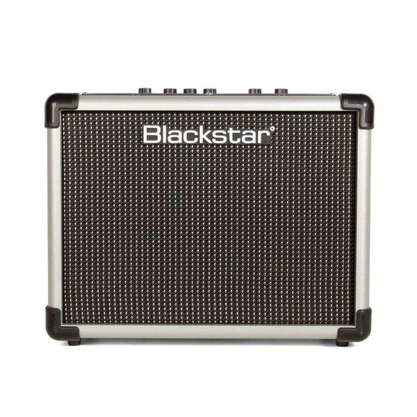 "Blackstar Blackstar IDCORE10SLV 10W 2 x 3"" Stereo Guitar Combo Amplifier, Silver"