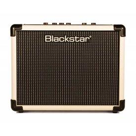 "Blackstar Blackstar IDCORE10CRM 10W 2 x 3"" Stereo Guitar Combo Amplifier, Cream"