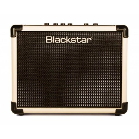 "Blackstar IDCORE10CRM 10W 2 x 3"" Stereo Guitar Combo Amplifier, Cream"