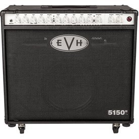EVH EVH 5150 III 1x12 50W Tube Combo, Black 120v