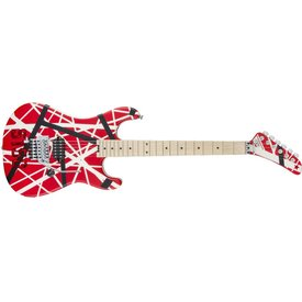 EVH EVH Striped Series 5150 Red Black White
