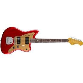 Squier Squier Deluxe Jazzmaster w/ Trem, Rosewood Fingerboard, Candy Apple Red