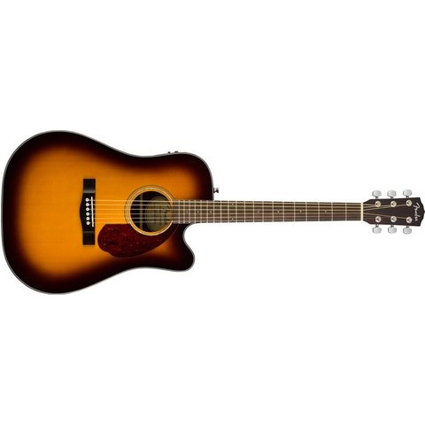 Fender CD-140SCE with Case, Sunburst