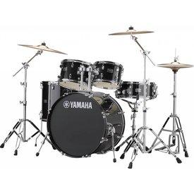 """Yamaha Yamaha RDP2F5BLG Black Glitter, Rydeen: Bd22""""X16""""/Ft16""""X16""""/Tt12""""X8""""/10""""X7""""/Sd14""""X5.5"""" Cl940Lb(X2) - One Box"""