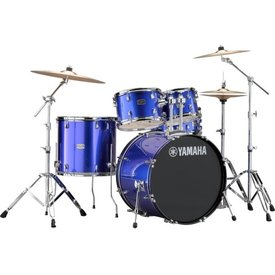 "Yamaha Yamaha RDP2F5FB Fine Blue, Rydeen: Bd22""X16""/Ft16""X16""/Tt12""X8""/10""X7""/Sd14""X5.5"" Cl940Lb(X2) - One Box"