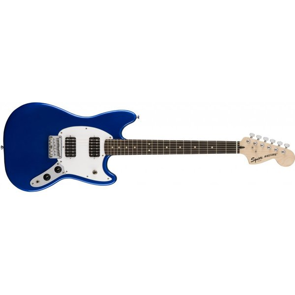 Squier Squier Bullet Mustang HH, Rosewood Fingerboard, Imperial Blue