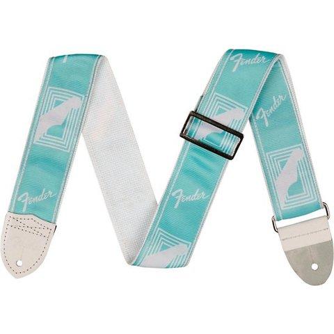 Fender 2'' Monogrammed Strap, Daphne Blue