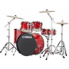 "Yamaha RDP2F56WWURD Red Rydeen 5Pc Drum Set Hw-680W 457 Rock Cym 22"" Bd Config"