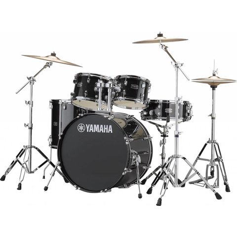 Yamaha RDP2F56WWUBLG Black Glitter Rydeen 5Pc Drum Set Hw-680W 457 Rock 22'' Bd
