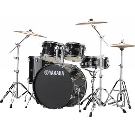 Yamaha Yamaha RDP2F56WBLG Black Glitter Rydeen 5-Pc Drum Set Hw-680W 22'' Bd Config
