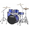 """Yamaha RDP0F56WWUFB Fine Blue Rydeen 5-Pc Drum Set Hw-680W 475 Rock Cym 20"""" Bd"""