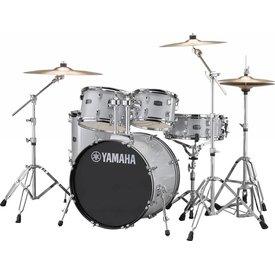 Yamaha Yamaha RDP0F56WSLG Silver Glitter Rydeen 5-Pc Drum Set Hw-680W 20'' Bd Config