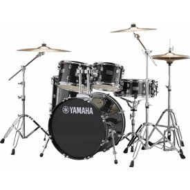 "Yamaha Yamaha RDP0F56WBLG Black Glitter Rydeen 5-Pc. Drum Set w/ Hw-680W 20"" Bd Config"
