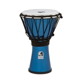 "Toca Toca TFCDJ-7MB Freestyle Colorsound 7"" Djembe Metallic Blue"