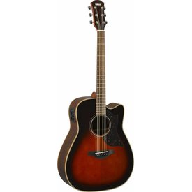 Yamaha Yamaha A1R TBS Folk Cutaway Acoustic Electic Guitar Tobacco Sunburst