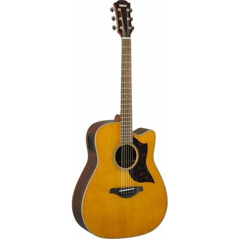 Yamaha A1R VN Folk Cutaway Acoustic Electic Guitar - Rosewood - Vintage Natural