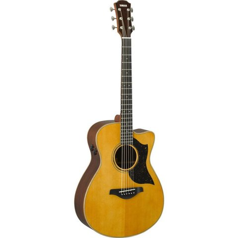 Yamaha AC5R VN Small Body Cutaway Acoustic Electric Guitar Vintage Natural