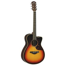 Yamaha Yamaha AC3R TBS Small Cutaway Acoustic Electric Guitar Rosewood Tobacco Sunburst