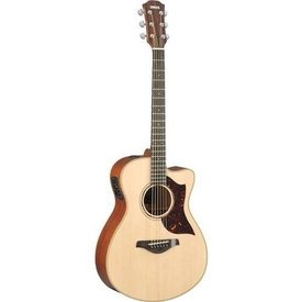 Yamaha Yamaha AC3M TBS Small Cutaway Acoustic Electric Guitar Mahogany Tobacco Sunburst