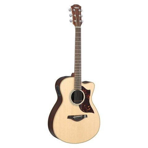 Yamaha AC1R VN Small Body Cutaway Acoustic Electric Guitar Vintage Natural