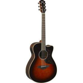 Yamaha Yamaha AC1R TBS Small Cutaway Acoustic Electric Guitar Rosewood Tobacco Sunburst