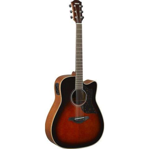 Yamaha A1M TBS Folk Cutaway Acoustic Electic Guitar Tobacco Sunburst