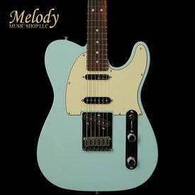Fender Deluxe Nashville Telecaster, Rosewood Fingerboard, Daphne Blue