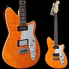 Reverend Double Agent W 20th Anniversary Rock Orange Flame Maple
