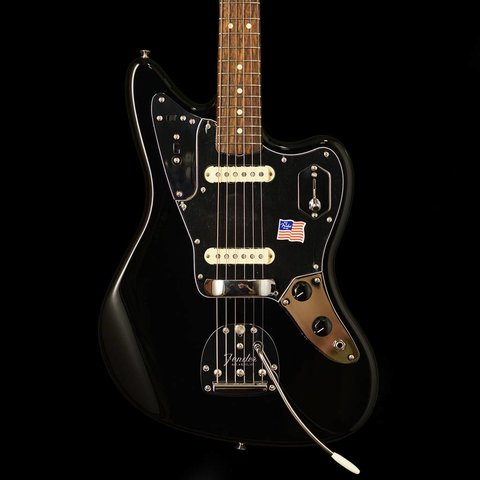 Johnny Marr Jaguar, Rosewood Fingerboard, Black