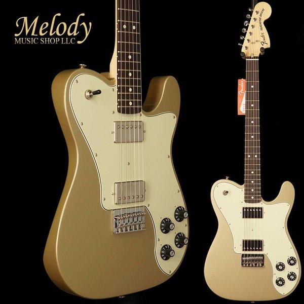 Fender Chris Shiflett Telecaster Deluxe, Rosewood Fingerboard, Shoreline Gold