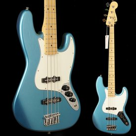 Fender Standard Jazz Bass, Maple Fingerboard, Lake Placid Blue
