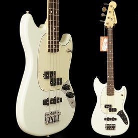 Fender Mustang Bass PJ, Rosewood Fingerboard, Olympic White