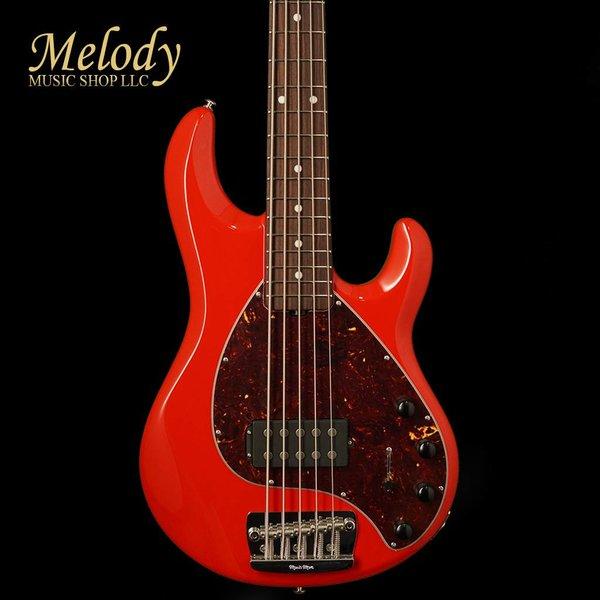 Music Man Ernie Ball Music Man StingRay5 Neck-Through Chili red