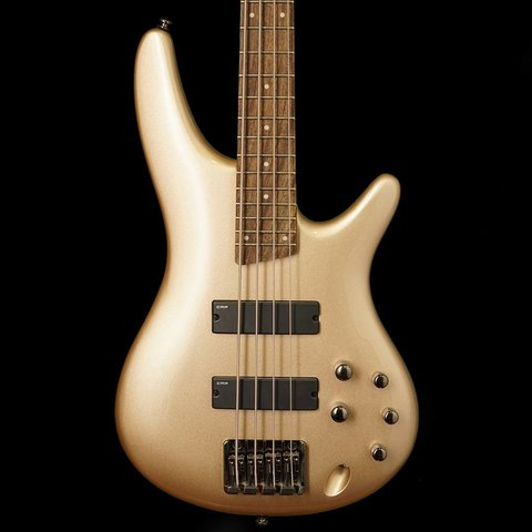Ibanez SR300ECGD SR Soundgear Electric Bass Guitar Champagne Gold