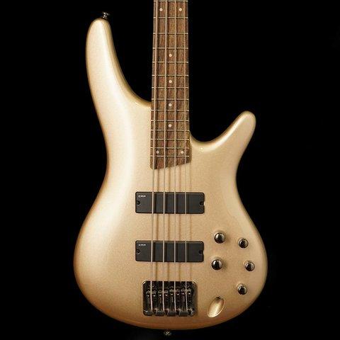 Ibanez SR300ECGD SR Soundgear Electric Bass Guitar Champagne Gold