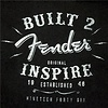 Fender Ladies Inspire T-Shirt, Black, S