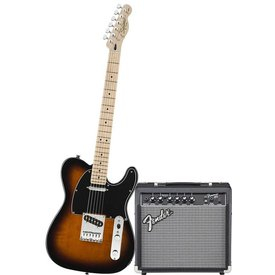 Fender Affinity Series Tele w/ Fender Frontman 15G Amp, Brown Sunburst