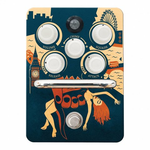 Orange Kongpressor Compressor Pedal