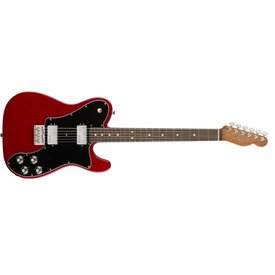 Fender 2017 Limited Edition American Professional Mahogany Tele® Deluxe Shawbucker®, Crimson Red Transparent