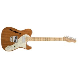 Fender 2017 Limited Edition American Elite Mahogany Tele Thinline, Natural
