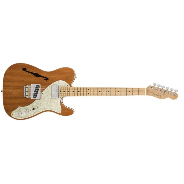 Fender 2017 Limited Edition American Elite Mahogany Tele® Thinline, Natural