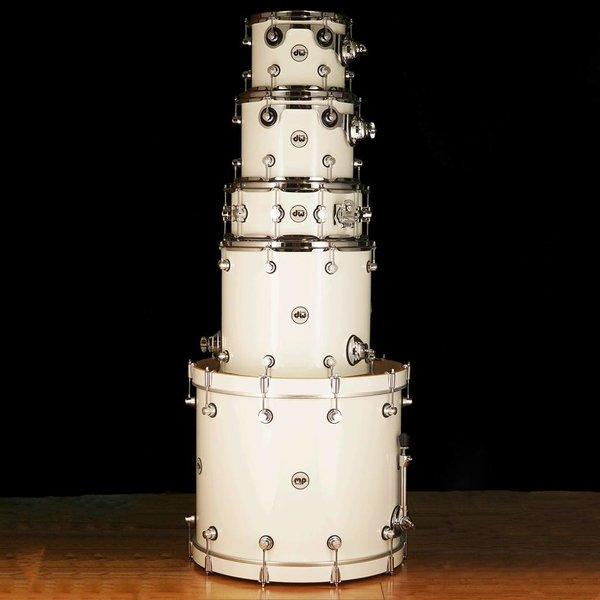 DW DW Drum Workshop Design Series White Laquer